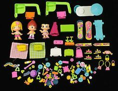Famosa PinyPon Dolls, Accessories and Furniture Huge Lot of 120 Pieces
