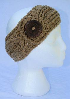 Headband Crochet, Crochet Hats, Ear Warmers, Fit Women, Awesome, Winter, Etsy, Fashion, Winter Time