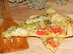 Pizza cu rosii si dovlecei
