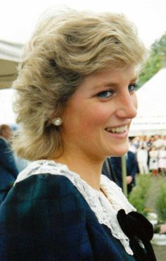 """Denbighshire photographer releases book of Royal Family pictures. Princess Diana at Chatsworth Park, Derbyshire, September 1987 taken from """"A Personal Portrait of The Royal Family"""" by Colin Edwards - Daily Post"""