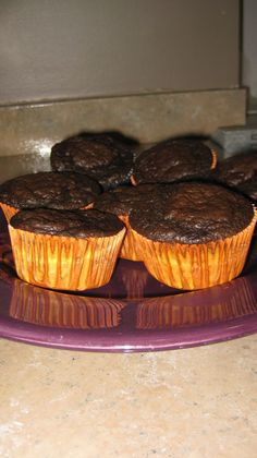 Lady's Amazing Dukan Year: Day #70 - Dukan Cupcake Recipe (modified Chocolate Oat Bran recipe)