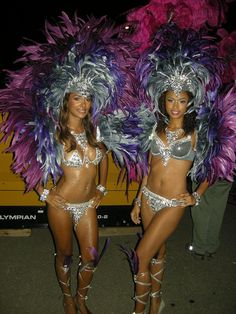Tribe carnival costumes 2012