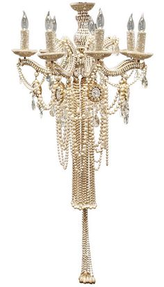 Glam Rock Chandelier by Erickson-Beamon   The House of Beccaria#
