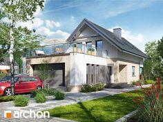 #ProjektDomu w cytryńcach (G2) z podwójnym garażem - http://archon.pl/gotowe-projekty-domow/dom-w-cytryncach-g2/ma9a214a261350