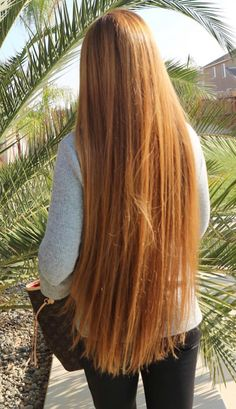 We Love Rapunzel Hair Long Red Hair, Very Long Hair, Beautiful Long Hair, Gorgeous Hair, Curled Hairstyles, Pretty Hairstyles, Red Hair Woman, Rapunzel Hair, Silky Hair