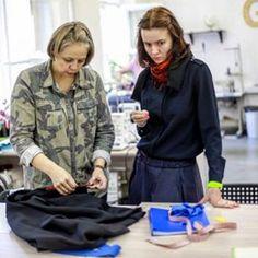 """Курс """"Конструирование, моделирование и пошив платья, блузы, юбки"""" для начинающих в школе GRASSER #курсы_кройки_и_шитья #sewing_school"""