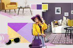 7 besten trendfarben fr hling sommer 2018 bilder auf pinterest. Black Bedroom Furniture Sets. Home Design Ideas