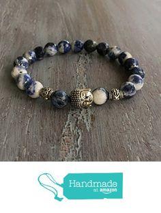 Buddha Bracelet, Gemstone Bracelet, Buddha Bead, Boho Bracelet, Beaded Bracelet, Boho Jewelry from indie tiez http://www.amazon.com/dp/B017JAW28Q/ref=hnd_sw_r_pi_dp_kBnqwb0CJ3KM4 #handmadeatamazon