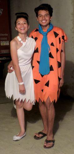 Ms honey and matilda costume by schaeffh on polyvore - Disfraz picapiedra casero ...