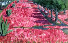 Emil Nolde | Crocus Blossoms, 1914