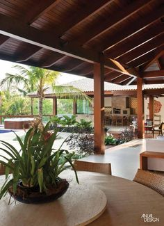 - Home Theater Courtyard Design, Backyard Garden Design, Ponds Backyard, Bali Style Home, 6 Bedroom House Plans, Big Mansions, Tropical Architecture, Farmhouse Bedroom Decor, Tropical Houses