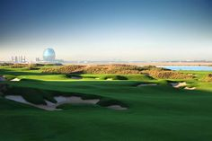 One thing we like about the United Arab Emirates are the world-class golf courses. Yas Links in Abu Dhabi is a serene course with amazing views and lush green fairways on an island home to a rich ecosystem of bird and marine life.
