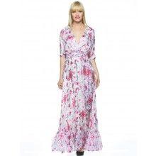 Margaret Floral Silk Maxi Dress - I just saw this in Bust magazine and I can't look away. Beautiful.