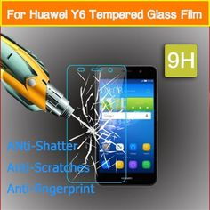 1.99$  Watch more here - Tempered Glass For Huawei Y6 / Y6 Pro / Y6ii / Y6 II Compact / Y6pro / Holly 2 3 Plus Screen Protector Toughened Protective Film   #magazineonline