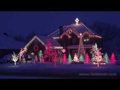 The Amazing Grace Christmas House