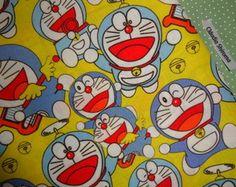 Tecido Doraemon
