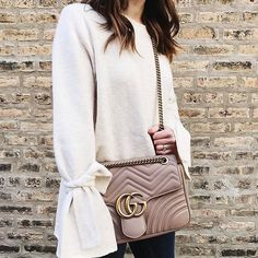 Gucci Marmont bag. Details here:  http://liketk.it/2qq1h #gucci