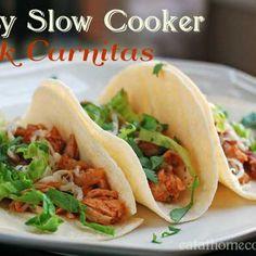 Easy Slow Cooker Pork Carnitas – Weeknight Dinner Favorite Recipe
