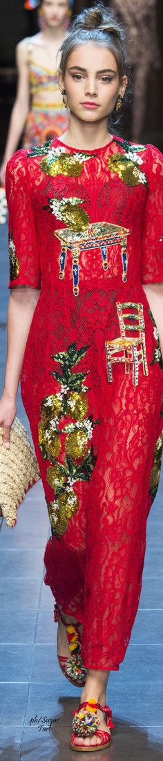 Dolce & Gabbana Spring 2016 RTW ♕BOUTIQUE CHIC♕