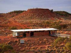 architecture.com.au - Lark Quarry Trackways Building and Facilities