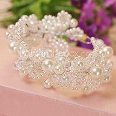 Women's Alloy/Imitation Pearl Headpiece - Wedding Headbands - USD $25.99