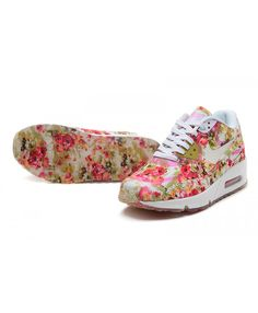 online retailer 271d3 725ea Order Nike Air Max 90 Womens Shoes Floral Official Store UK 1358 Floral  Nikes, Air