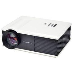 PH058 200 Lumens LCD Projector 360 Degree Flip with HDMI TV AV VGA USB Inputs…