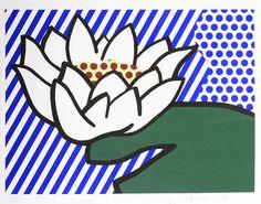 Roy Lichtenstein, Water Lily, 1993, Shapero Modern