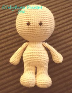 GumDrops Big Head Doll's, is free written crochet pattern in US terms.