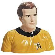 Star Trek Original Series Captain Kirk Cookie Jar