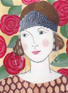 Lady Billie by TheLadyAgnesShoppe on Etsy, $25.00