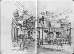 Urban Sketchers: SPIRITUAL JOURNEY TO INDIA - 2014