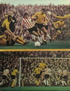 Sheffield Utd 1 Hull City 2 in March 1971 at Bramall Lane. More action from the game #Div2