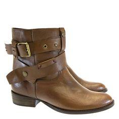 Bota Cano Curto Café 1324 Minski | Moselle calçados finos femininos! Moselle sua boutique de calçados online.