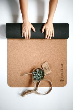 Australia's first eco-friendly Cork Yoga Mat. It is the unique yoga mat alternative that is not only safe to use but also safe for the environment. Perfect unique gift for someone special (or yourself! - Made with natural cork and backed with natu Go Green, Green Mat, Yoga Mat Bag, Yoga Mats, Travel Yoga Mat, Yoga Equipment, Yoga Exercises, Yoga Accessories, Yoga Inspiration