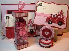Inking Idaho: Spiffy Little Valentine Box