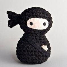 Free+Crochet+Ninja+Amigurumi+Patterns | CREEPY CUTE CROCHET | Crochet For Beginners