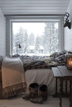 Cozy Place Cozyplaces Winter Bedroom Cozy Bedroom Home Interior And Exterior, Interior Design, Room Interior, Chalet Interior, Modern Interior, Modern Decor, Cozy Room, Cosy Bedroom Warm, Home Decor Bedroom