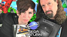 The Sega Saturn is a game console that bombed in North America but was wildly successful in Japan and has some great games released for it. This buying. Playstation, Video Game Collection, Sega Saturn, Cat Ears, In Ear Headphones, Games, Top, Consoles, Videogames