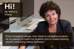 Chana - Our Adobe Certified Instructor in LA