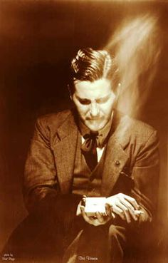 """Dai Vernon (1894-1992), advertised as """"The magician that fooled Houdini."""" The truth is, he actually fooled Houdini 7 times."""