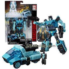 TRANSFORMERS HASBRO DELUXE TITANS RETURN headmaster Weirdwolf complete no box