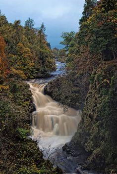 Reekie Linn Waterfall - Scotland