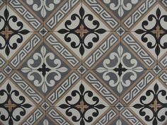 LILYZ BLACK portugese tegels,cement tiles,encaustic floor tiles, collection FLOORZ