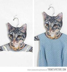 Cat hanger…