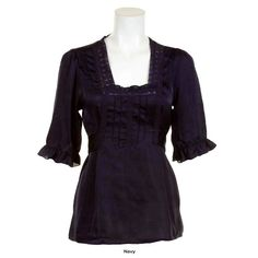 Check out this Ashley Judd Satin Ruched Top with an MSRP of $35.99, but available for $13.00 only @ nomorerack.com