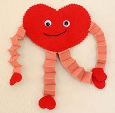 Valentine's Heart Guy - 99 Crafting