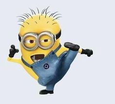 Minions were Kung foo fighting! ...