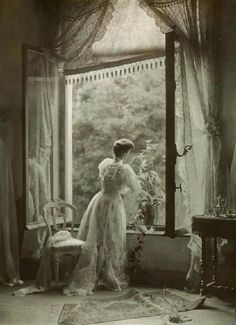 Traveling through history of Photography...Madame Misonne, by Léonard Misonne, ca 1910.