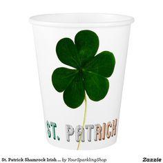 St. Patrick Shamrock Irish Ireland Typography #Party #StPatrick